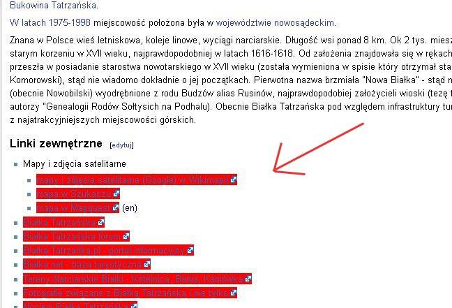 """Linki """"nofollow"""" w Wikipedii"""